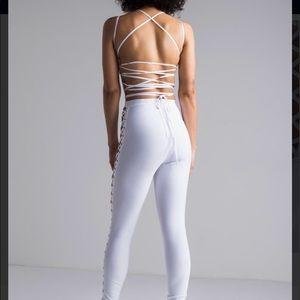 Laced UP Jumpsuit